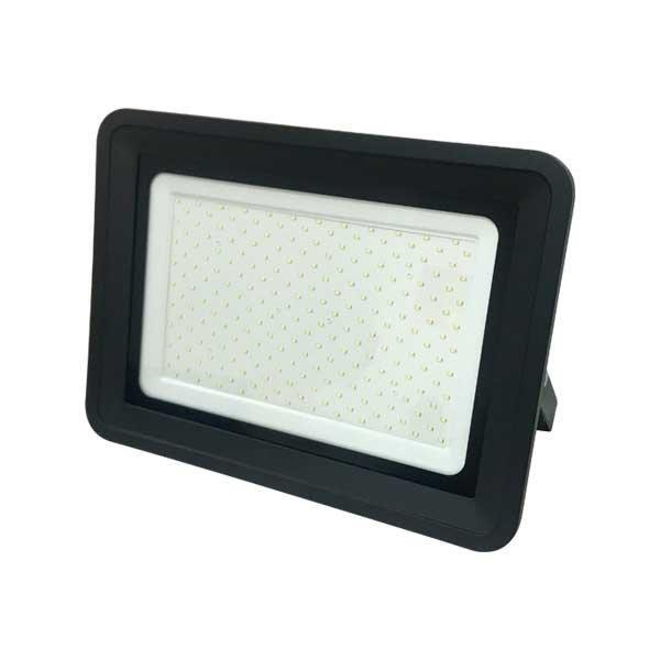 LED21 LED reflektor PREMIUM BLACK černý 200W CCD SMD2835 17000lm SLIM Neutrální bílá FL5839